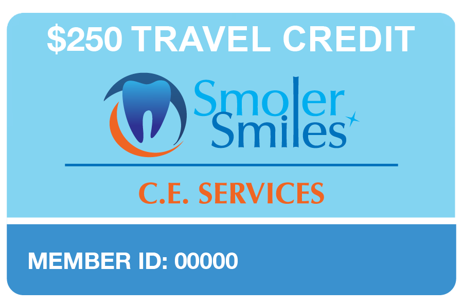 Smoler Smiles C.E. Services Rewards Program